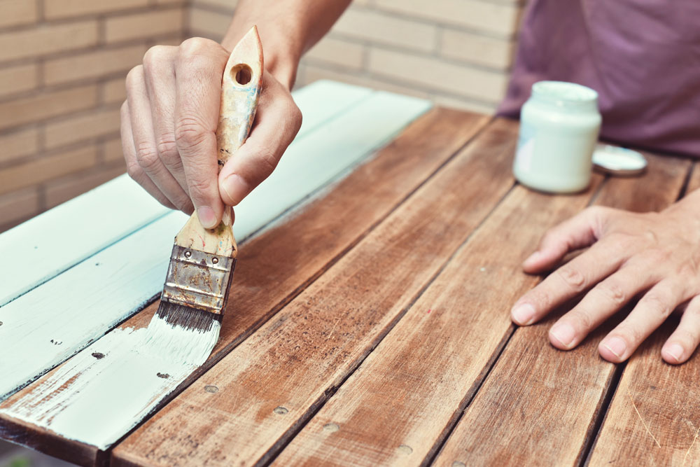 Painting Timber - Albany.ie